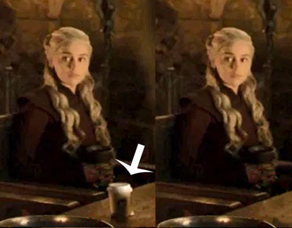 Adobe After Effects fixes Game of Thrones Starbucks cup goof 1
