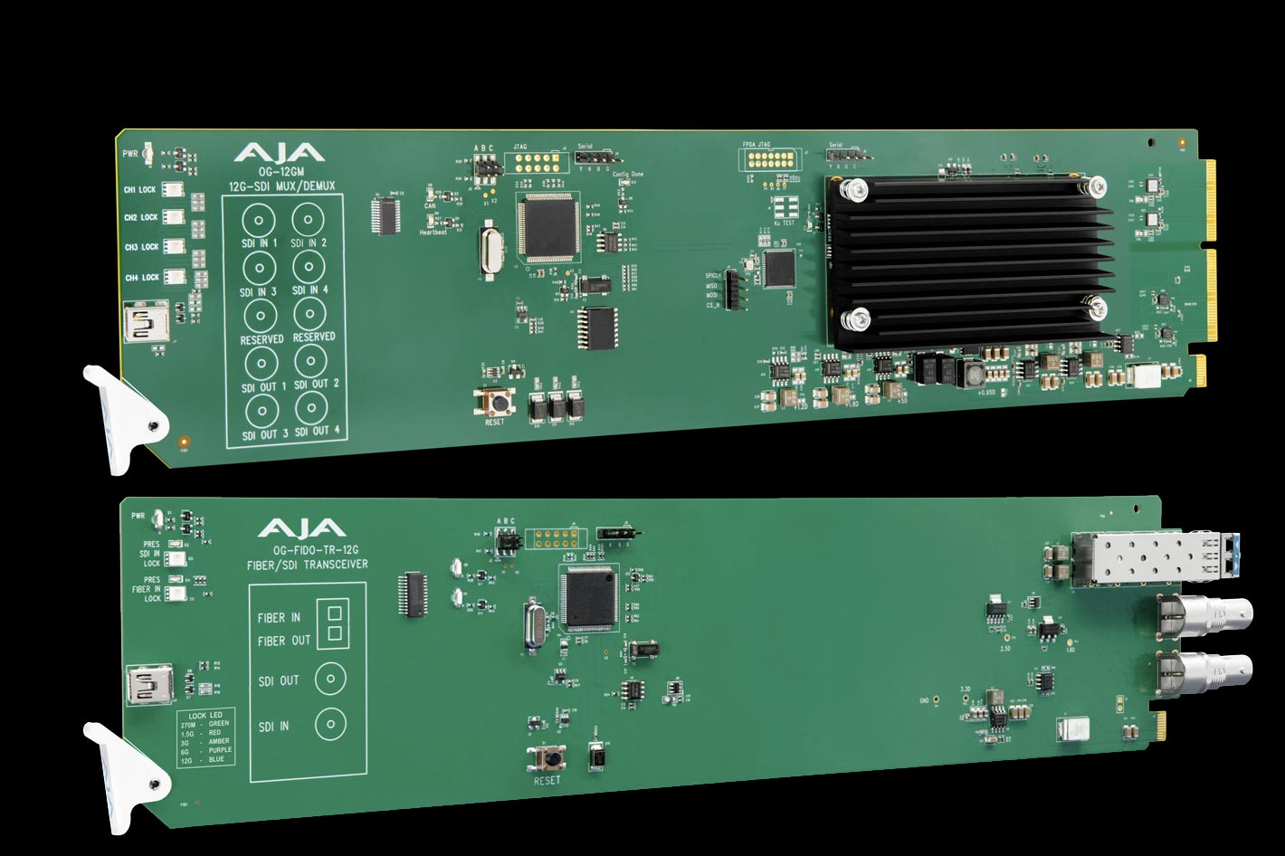 AJA releases two new 12G-SDI openGear solutions