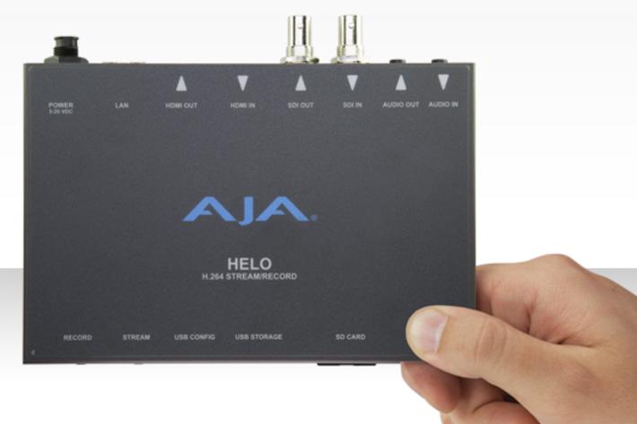 AJA delivers HELO v1.1 firmware