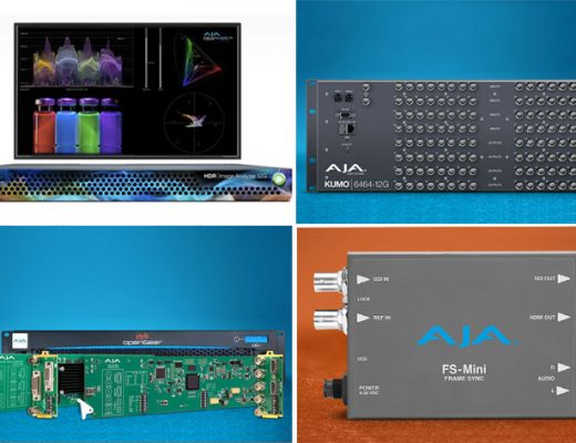 AJA Video System: new products unveiled at IBC 2019