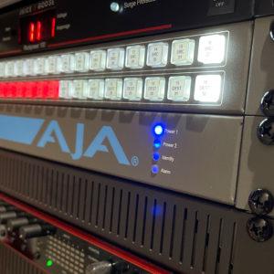 How Invictus Entertainment uses AJA KUMO 1616-12G