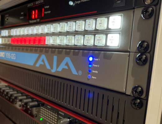 How Invictus Entertainment uses AJA KUMO 1616-12G