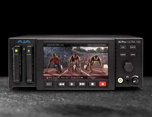 AJA introduces the next-gen Ki Pro Ultra 12G video player and recorder