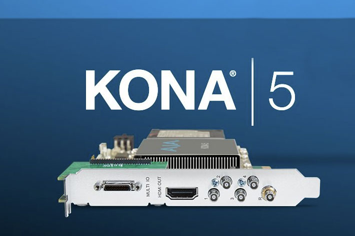AJA releases Desktop Software v15.5 for KONA, Io and T-TAP 1