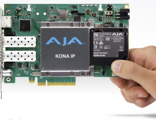 AJA releases software for its products