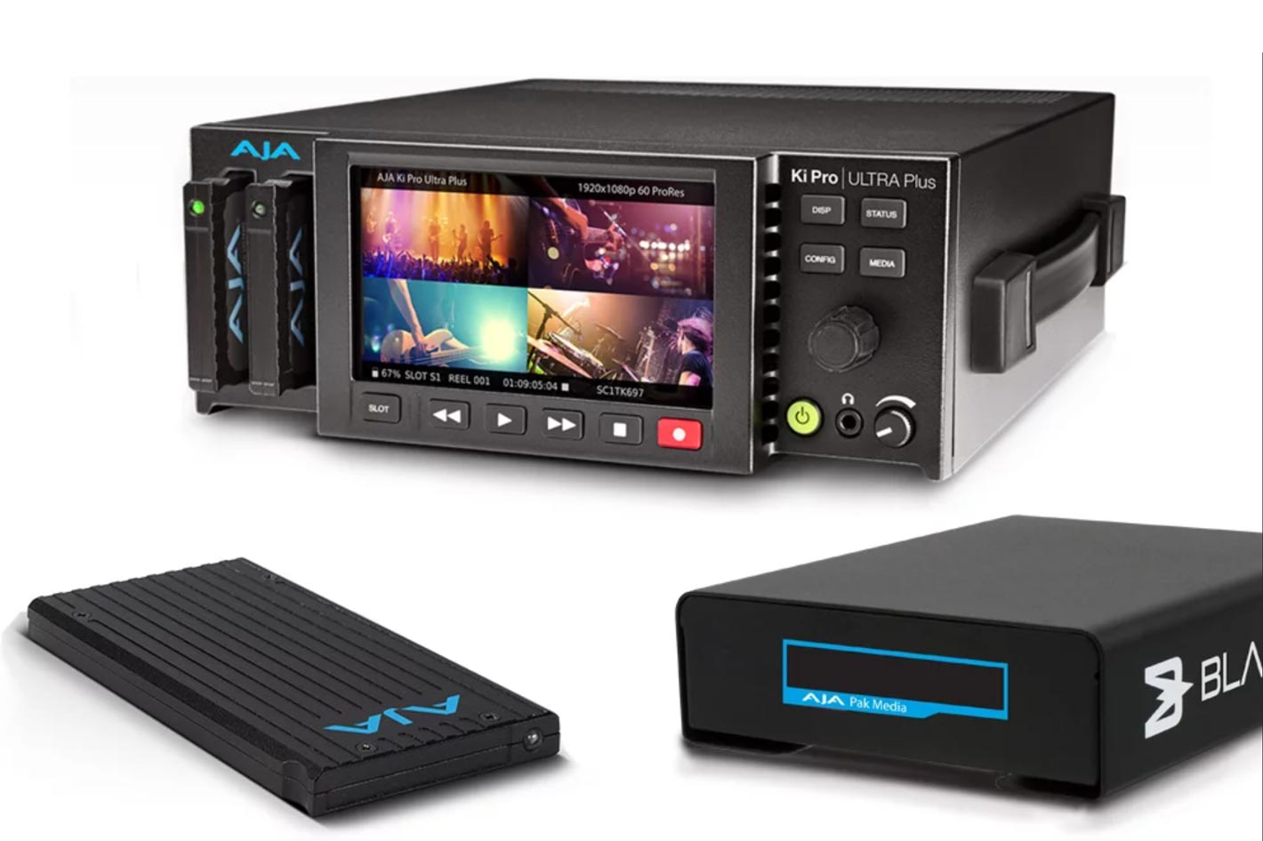 Blackjet VX-1P, a new media reader for AJA Pak Media