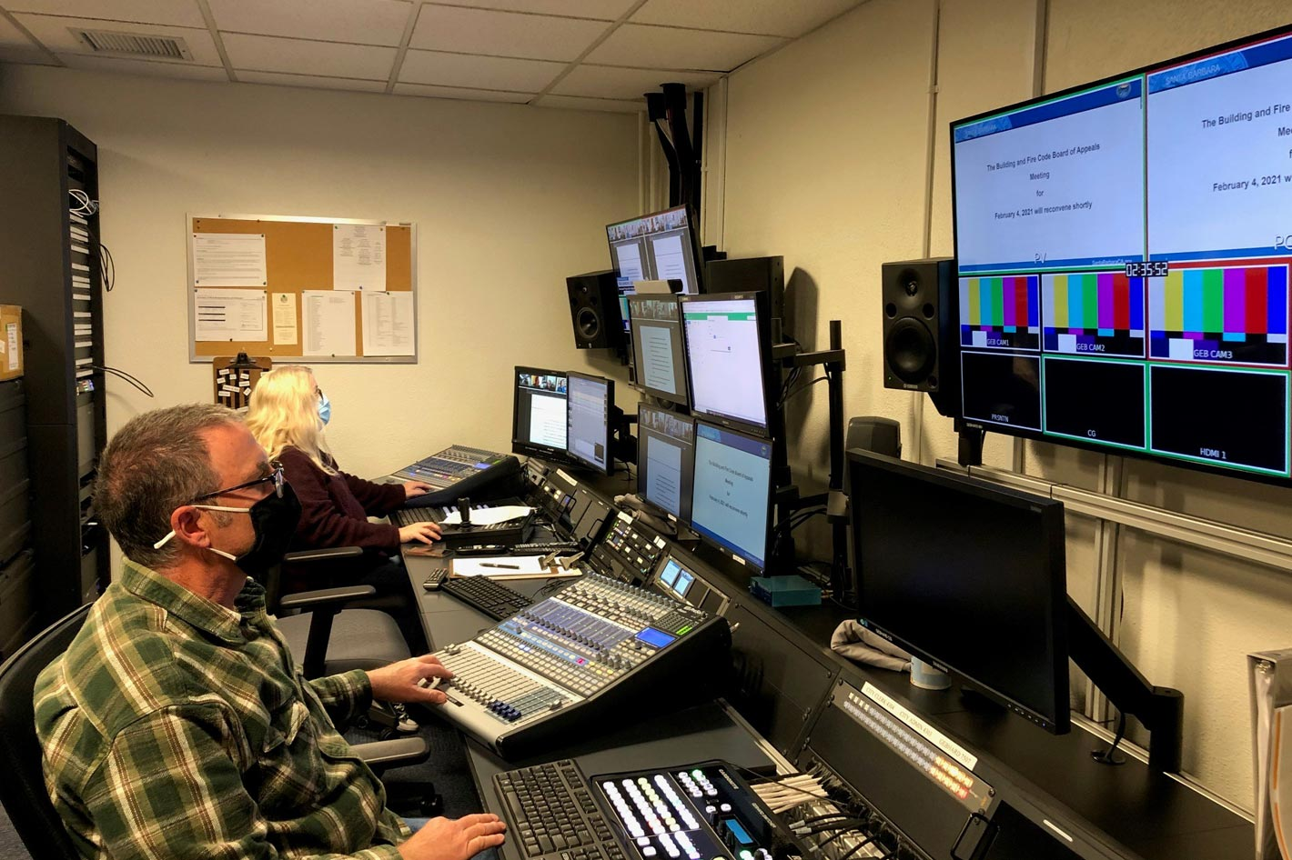 AJA Video Systems gear powers local community