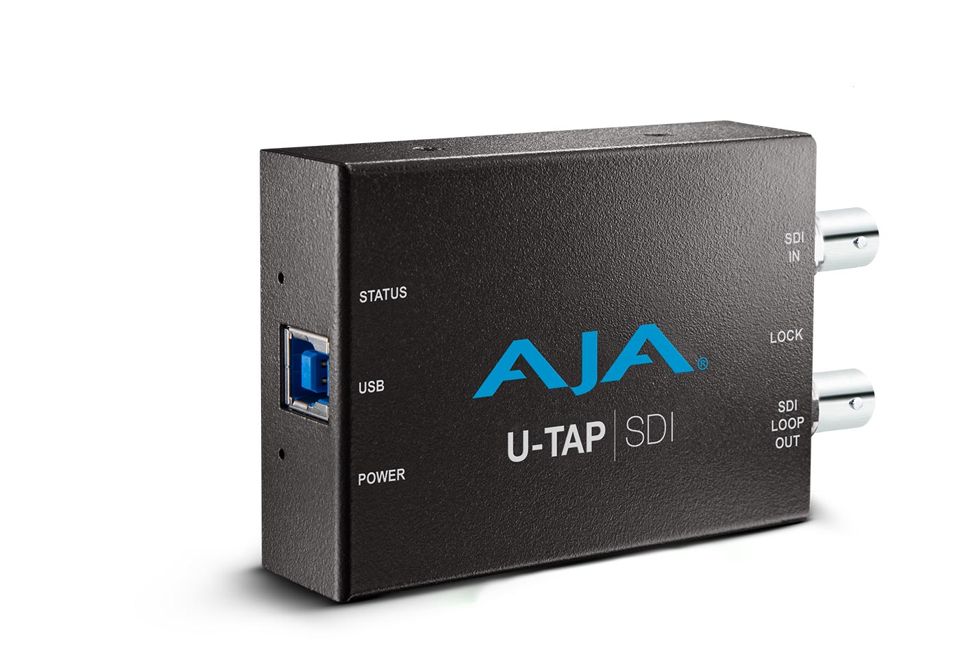 AJA U-TAP, a tool for remote interview production