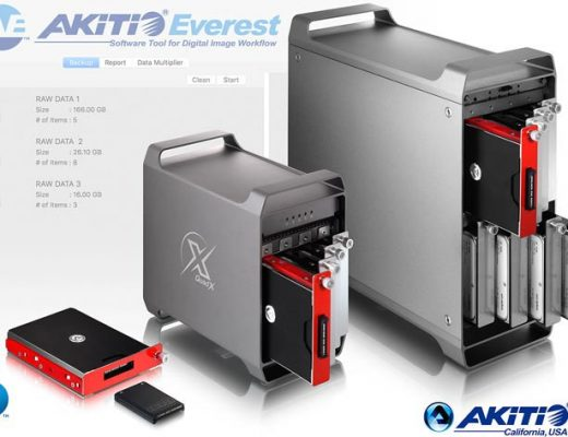 Akiti expands Thunderbolt 3 Storage and shows new products at NAB 2018