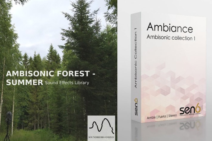 The largest Ambisonic sound library in the world