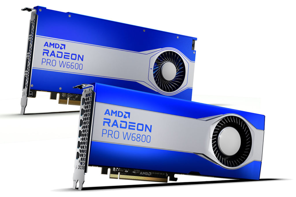 The fastest AMD RDNA workstation graphics for video editing