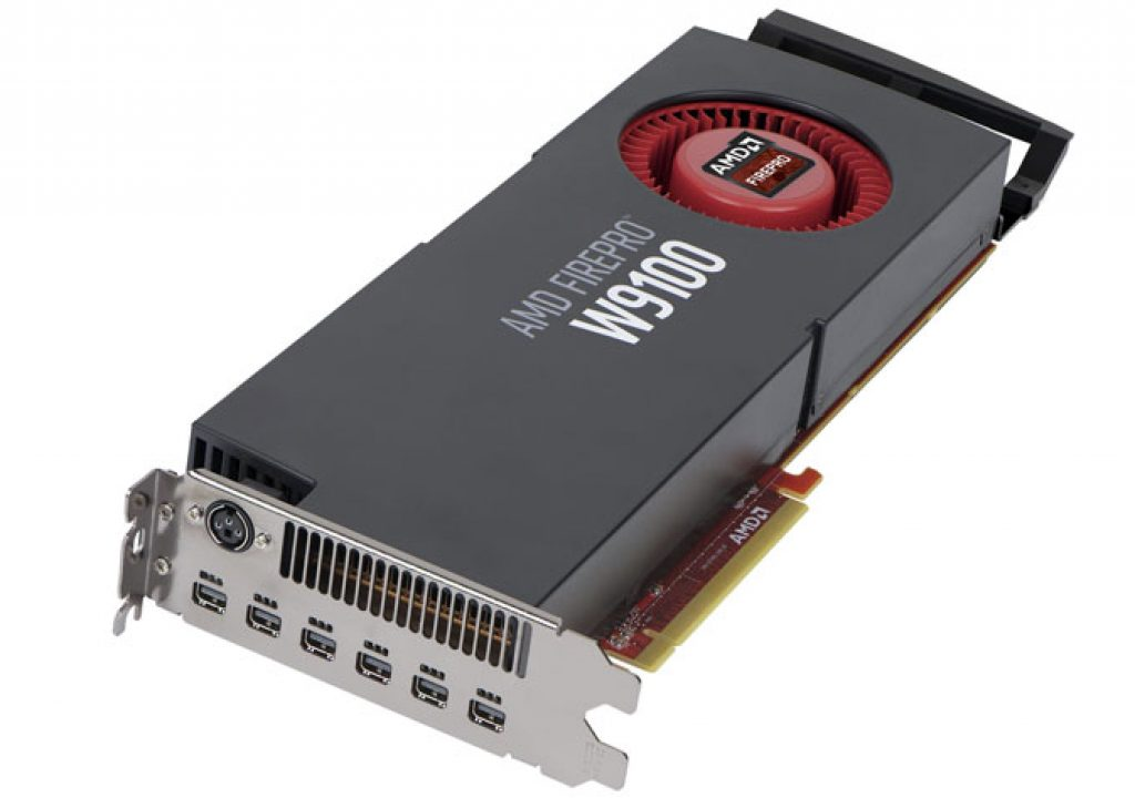 AMD FirePro W9100 at NAB 2016