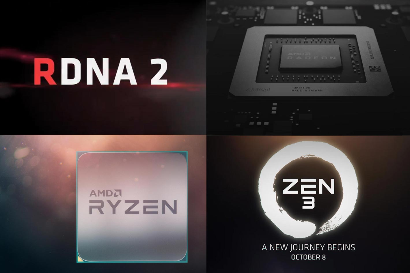 AMD: next generation CPU and graphics cards arrive in October