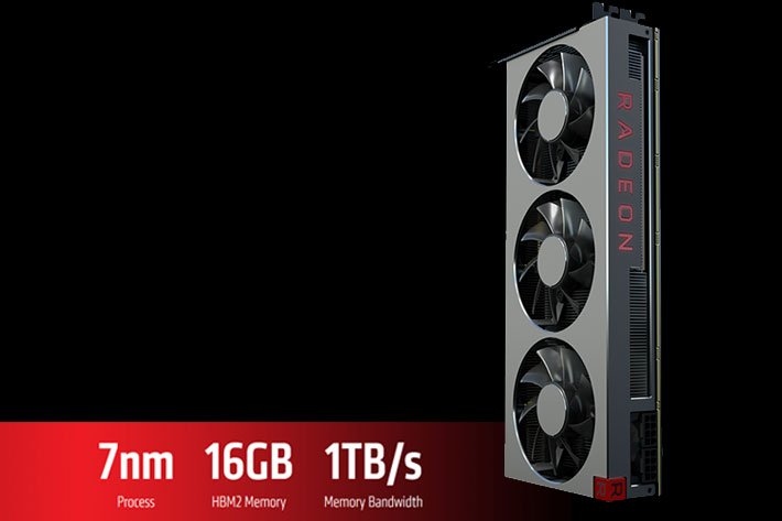 AMD Radeon VII: world's first 7nm GPU has 16GB memory for content