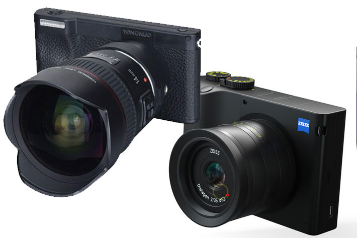 Zeiss ZX1 and Yongnuo YN450: are Android cameras the future?