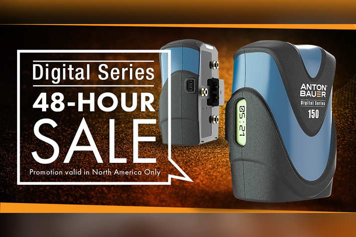 Anton/Bauer 48-Hour end of year sale