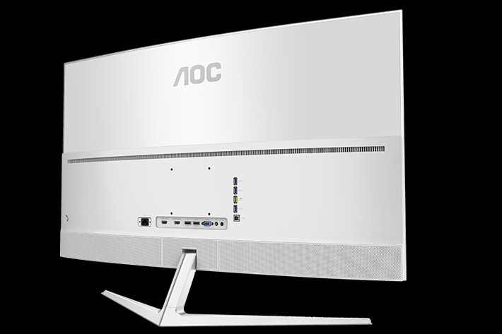 New 40 inch 4K UHD AOC monitor 3