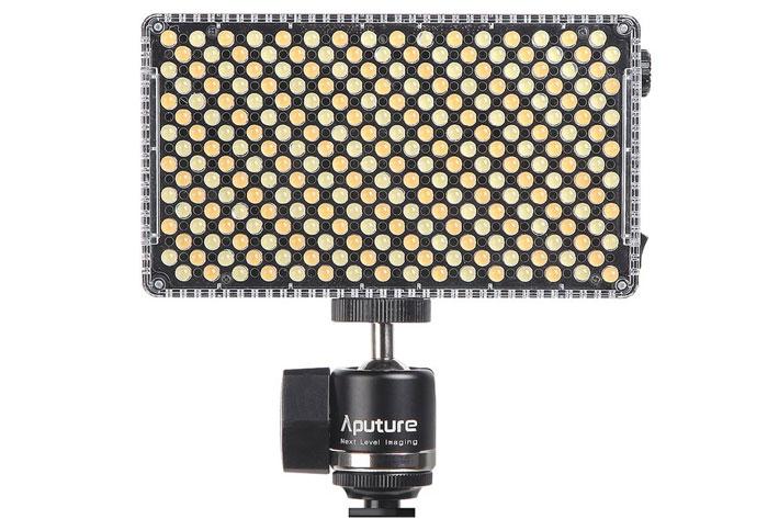 Aputure MX and F7 LEDs: smaller panels, more brightness
