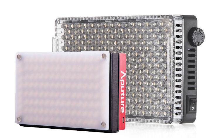 Aputure MX and F7 LEDs: smaller panels, more brightness