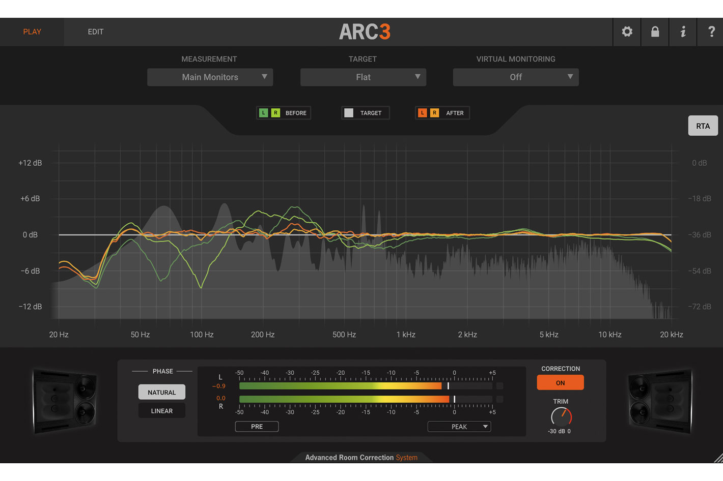 ARC System 3: a new dimension of acoustic correction for studios
