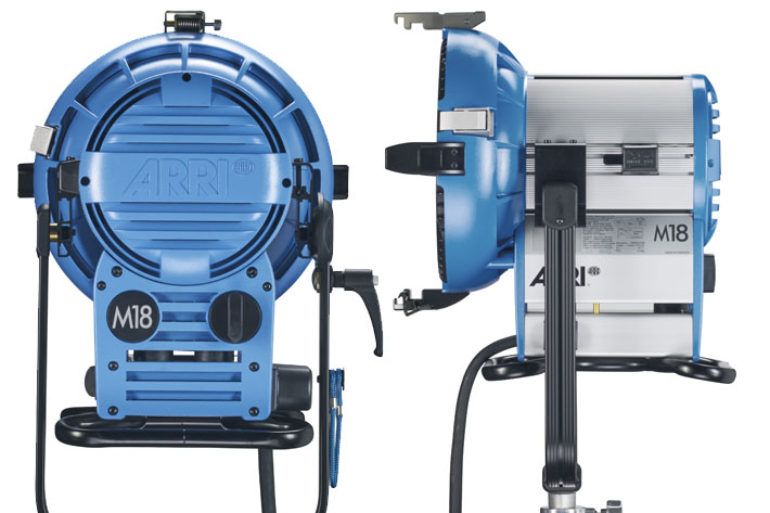ARRI M18 lamphead: limited edition to celebrate the tenth anniversary