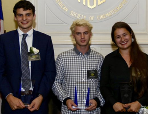 ASC honors student filmmakers