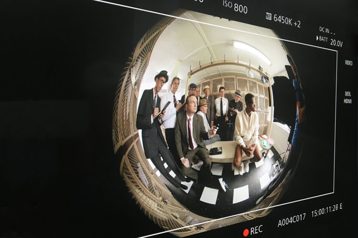 Eve Cohen, DP on Ashe '68, a documentary in 360 VR