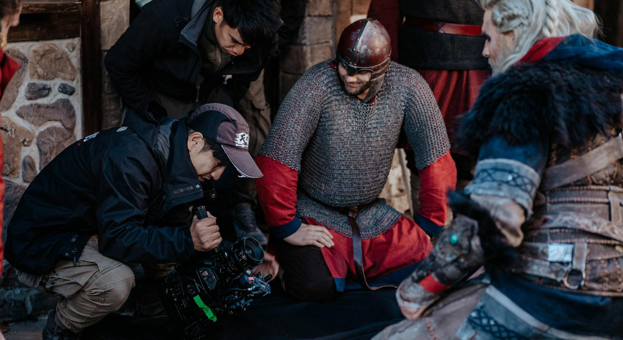 Assassin's Creed Valhalla short film: a touch of Blackmagic