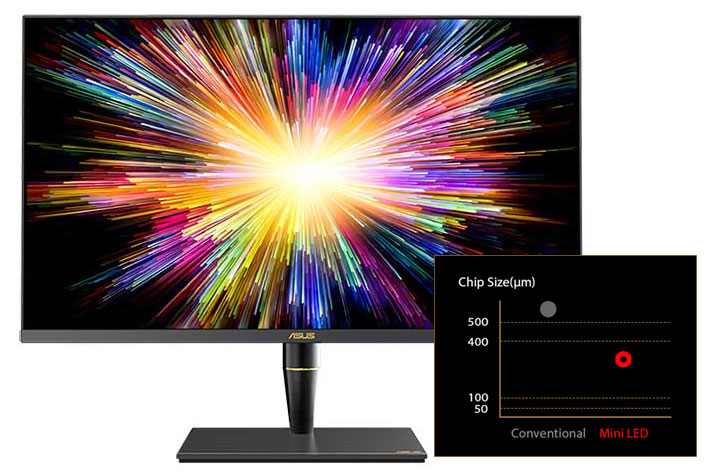 ASUS ProArt PA32UCX: a professional monitor with 1,200 nits and mini-LED backlighting