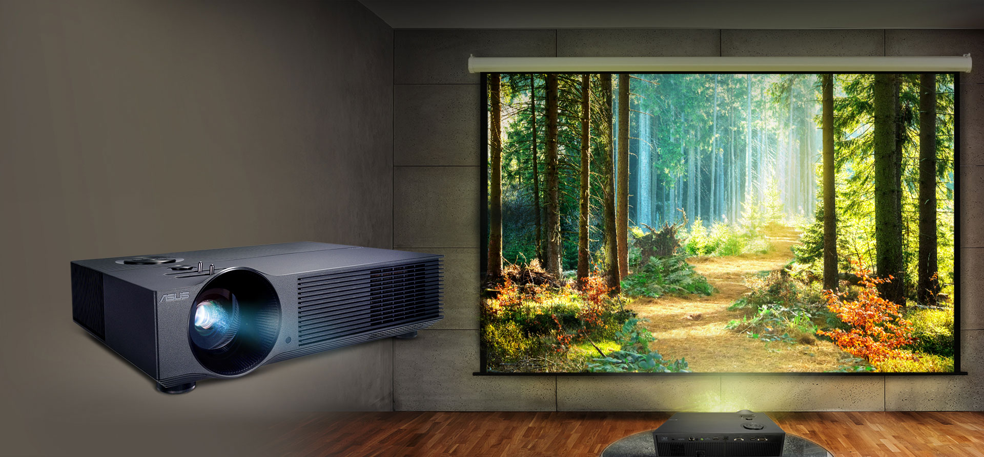 ASUS H1 LED: a great solution for movies and videos
