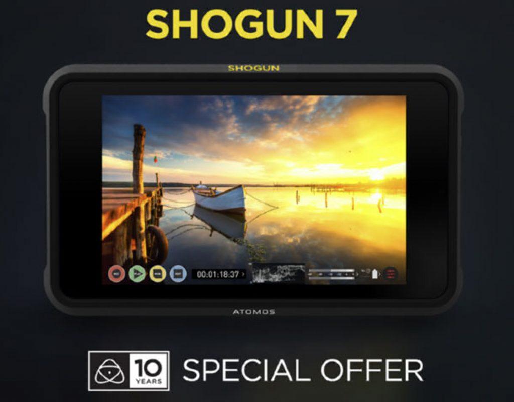 Atomos marks 10-year anniversary with Shogun 7 promotion