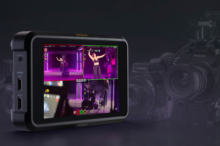 Atomos Shogun 7 gets multi-camera switching with AtomOS 10.4