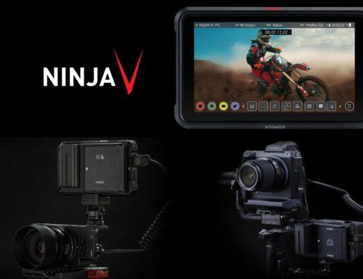 Atomos 4K ProRes RAW for Fujifilm and Sigma cameras