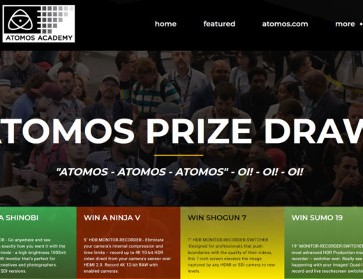 ATOMOS NAB 2020 prize draw is now online