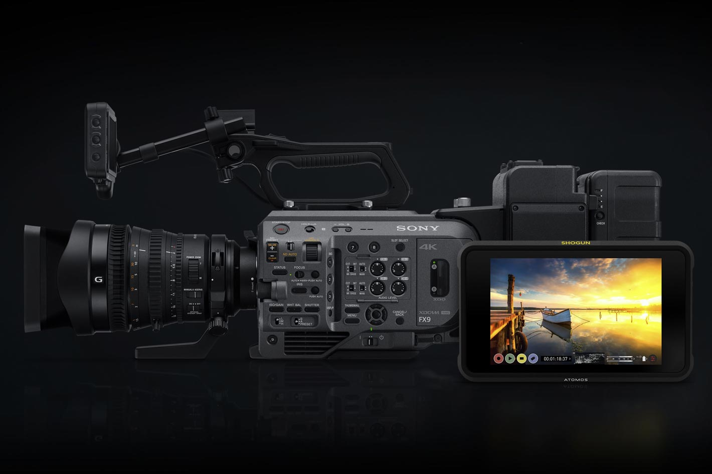 Atomos brings RAW recording to the Sony PXW-FX9