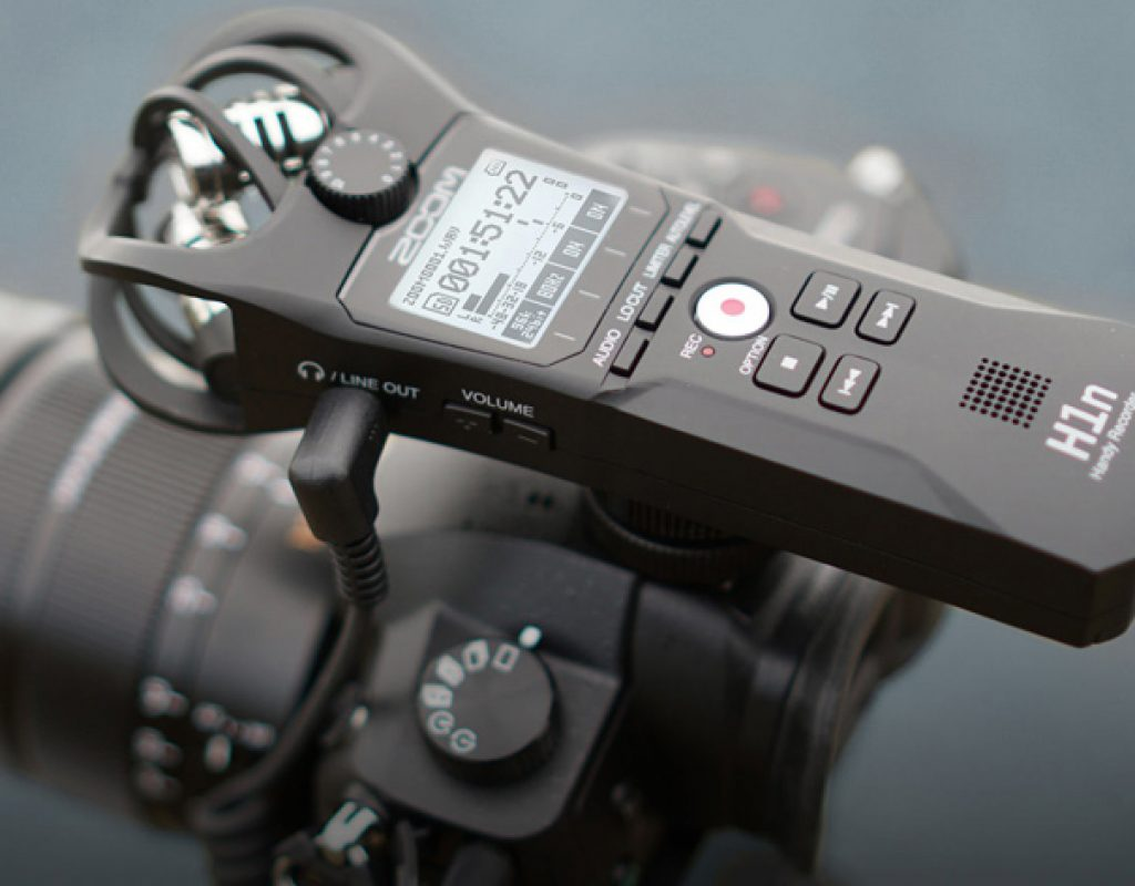 Zoom H1n: the take-anywhere sound recorder