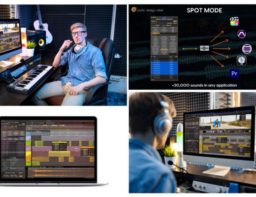 New Audio Design Desk 1.7: seamless workflows with NLEs