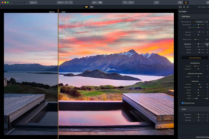 New Aurora HDR lightens Windows