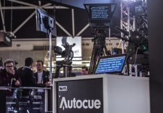 Autocue and NewTek: teleprompting over IP at IBC 2016