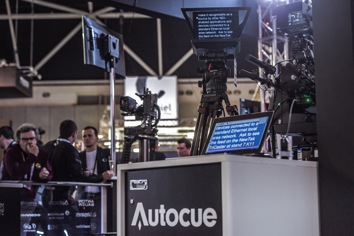 Autocue and NewTek: teleprompting over IP at IBC 2016 2