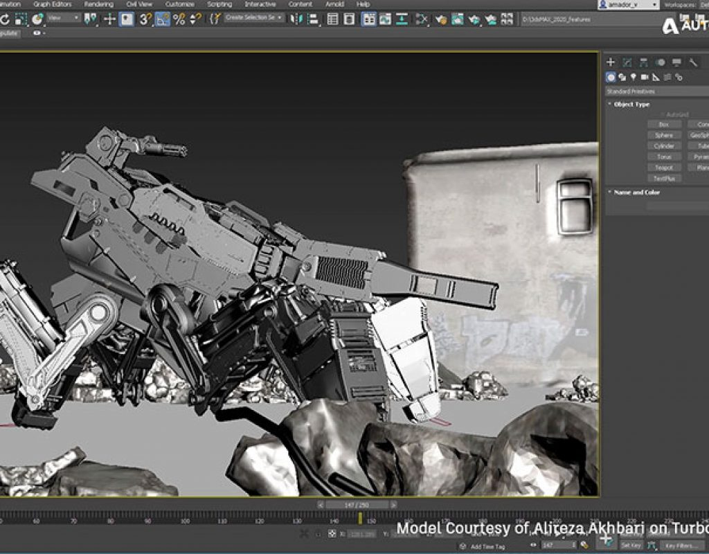 Autodesk released 3ds Max 2020, its improved content creation toolset