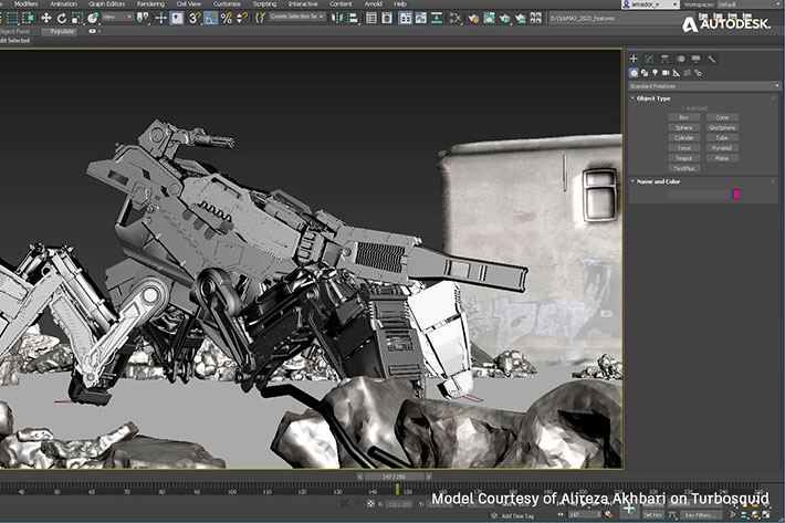 Autodesk released 3ds Max 2020, its improved content creation toolset by Jose Antunes