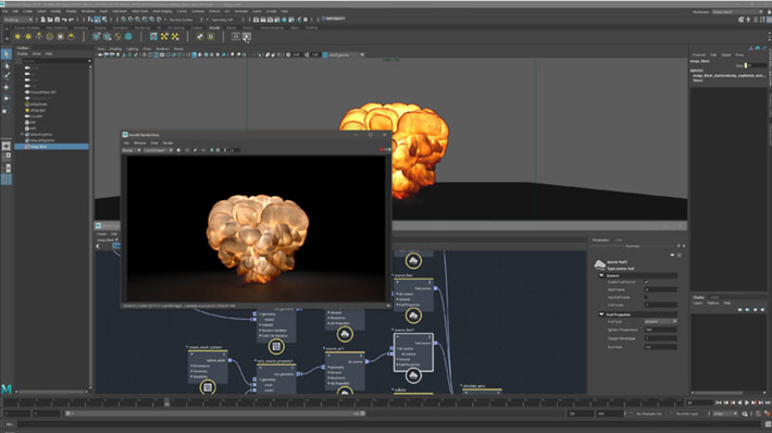 Bifrost for Maya: creating VFX quickly