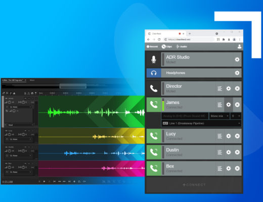 Cleanfeed enriches remote multitrack with Aux Outputs 4