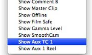 My Auxiliary Timecode tutorial is online