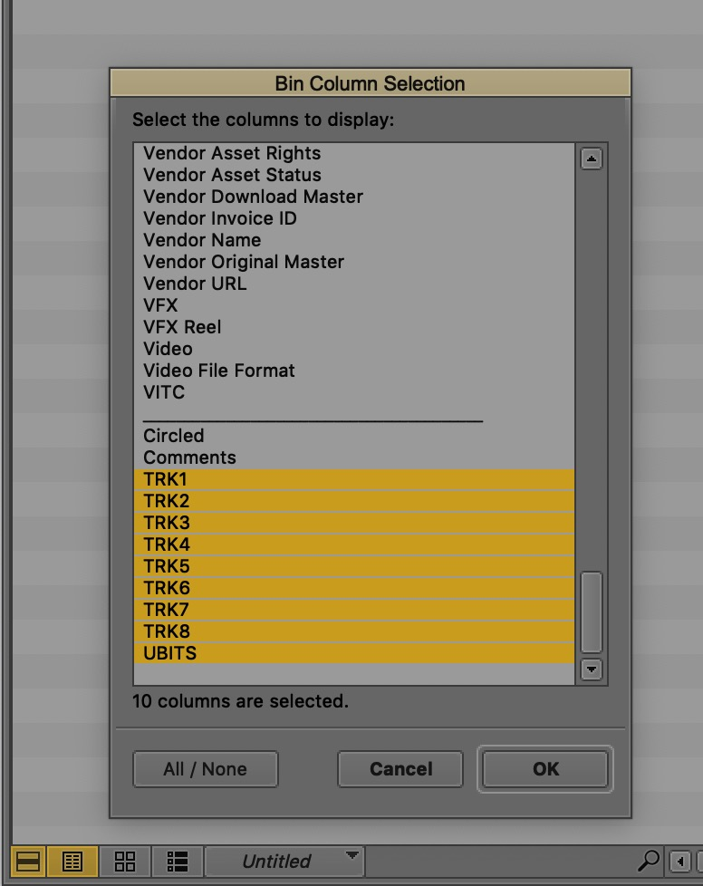 Adobe and Avid need to support iXML metadata for audio channels in the timeline 9