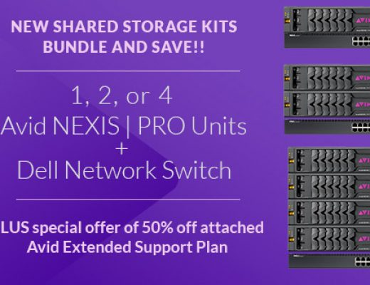 Bundle & Save on Avid NEXIS | Pro Shared Storage Kits 6