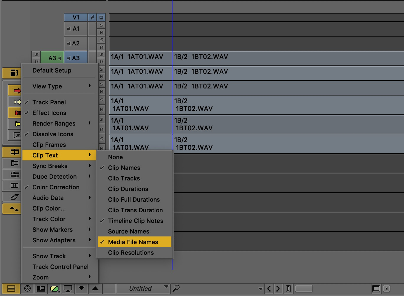 Adobe and Avid need to support iXML metadata for audio channels in the timeline 11