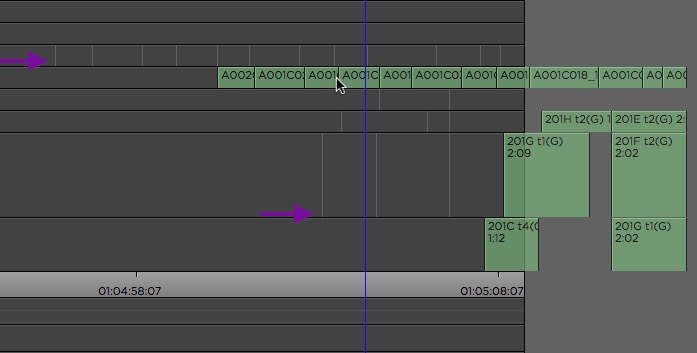 avid85 moving clips