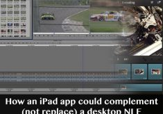 An NLE companion app is what I really wanted out of Avid Studio for iPad